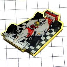 ピンバッジ・アイルトンセナの車ホンダF1