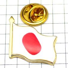 ピンズ・New!はためく日の丸日本の国旗日章旗