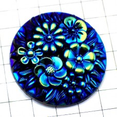 ピンズ・New!青い花