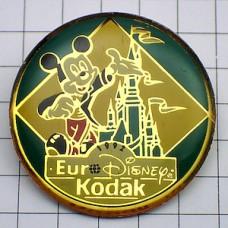 ピンズ・ミッキー城ユーロディズニー写真コダック