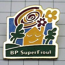 ピンズ・花と太陽と家BP石油