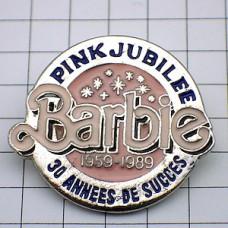 ピンズ・バービー人形ピンクの宝石