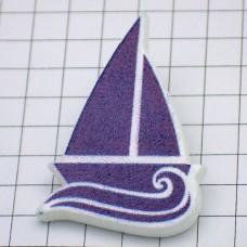 ピンバッジ・New!帆船と波