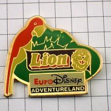 ピンズ・ライオンとオウム鸚鵡ユーロディズニー