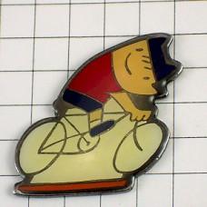 ピンバッジ・バルセロナ五輪コビ自転車
