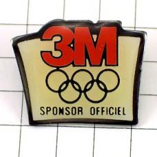 ピンズ・スリーエム五輪スポンサー3M