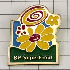 ピンズ・ほほえむ花BP石油
