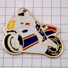 ピンズ・二輪バイク1レース用オートバイ煙草ロスマンズ