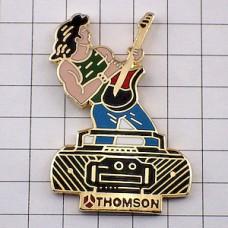 ピンズ・トムソンのラジカセ音楽ギターギタリスト