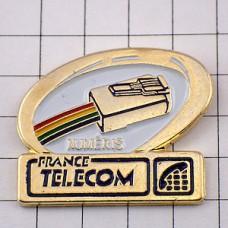 ピンズ・電話のコード差込みフランステレコム社