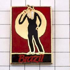 ピンズ・音楽ブラジルの歌手