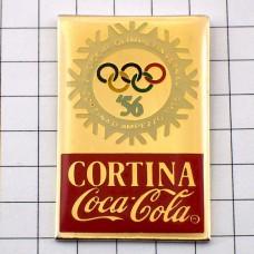 ピンズ・コルティナ五輪コカコーラ1956年イタリア