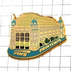 ピンバッジ・プランタンデパート百貨店建物
