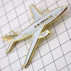 ピンバッジ・エールフランス航空の飛行機