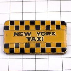 ピンズ・ニューヨーク車タクシー黄色イエローキャブ柄