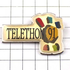 ピンズ・テレトン・募金1991年