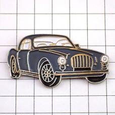 ピンバッジ・アンティーク灰色の車