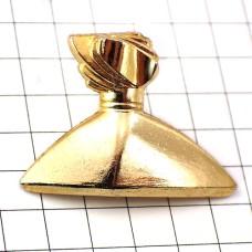 ピンズ・ステファニー金色の香水ボトル壜