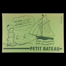 ビュバー・帆船プチバトー水兵帽の男の子