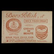 ビュバー・蜜蜂ミツバチ印の磨きクリーム缶