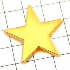 ピンズ・New!ゴールド金色に光るスター星