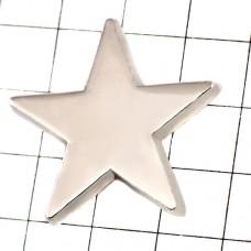 ピンズ・New!シルバー銀色に光るスター星