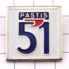 ピンズ・パスティス51数字お酒