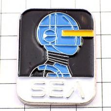 ピンバッジ・青いロボットSEA