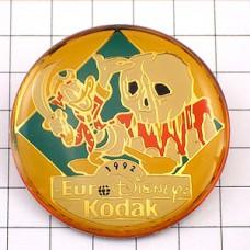 ピンバッジ・ドナルドダック海賊ディズニー写真コダック