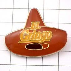 ピンバッジ・メキシコ帽子ソンブレロ珈琲コーヒーグリンゴアメリカ人