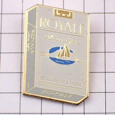 ピンズ・ロワイヤル煙草の箱ボート帆船