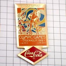 ピンズ・ストックホルム五輪コカコーラ