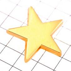ピンズ・ゴールド金色スター星