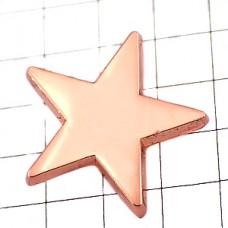 ピンズ・コッパーピンク色スター星