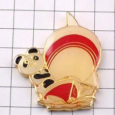 ピンズ・北京アジア競技大会パンダのパンパン船マスコット