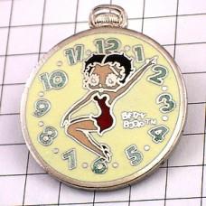 ピンズ・ベティちゃんベティブープ懐中時計
