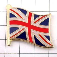 ピンズ・New!イギリス国旗ユニオンジャック英国デラックス薄型キャッチ付き