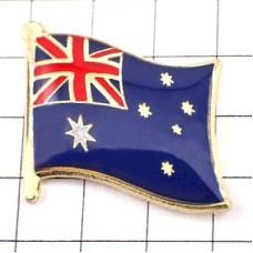 ピンズ・New!オーストラリア国旗デラックス薄型キャッチ付き南十字星