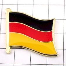 ピンズ・New!ドイツ連邦共和国の国旗デラックス薄型キャッチ付き独国