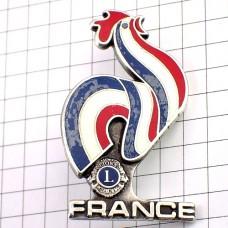 ブローチ・ニワトリ雄鶏フランス国鳥ライオンズクラブL