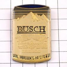 ピンズ・ブッシュ缶ビール雪山アメリカ/USA