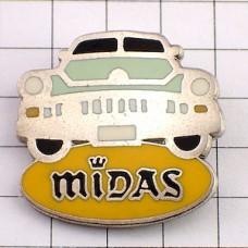 ピンバッジ・ミダス正面向きの車