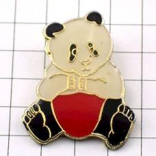 ピンズ・赤いパンツのパンダ熊猫