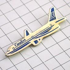 ピンバッジ・飛行機カナディアン航空