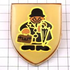 ピンバッジ・雨傘ロンドン英国紳士イギリス紋章