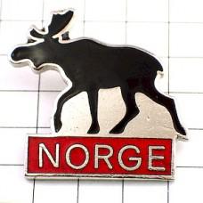 ピンズ・ノルウェーの大鹿