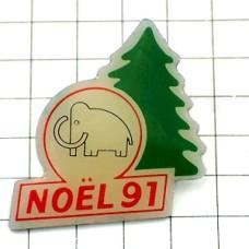 ピンズ・マンモス象クリスマスツリー木