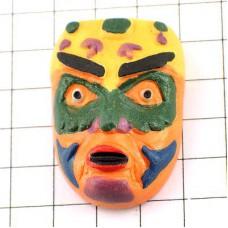 フェーブ・カナダのネイティブアメリカンの仮面