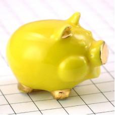 フェーブ・金色耳の黄ブタ豚