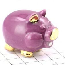 フェーブ・金色耳の紫ブタ豚